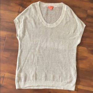 Relax Tommy Bahama Open Weave Sweater Tank Top